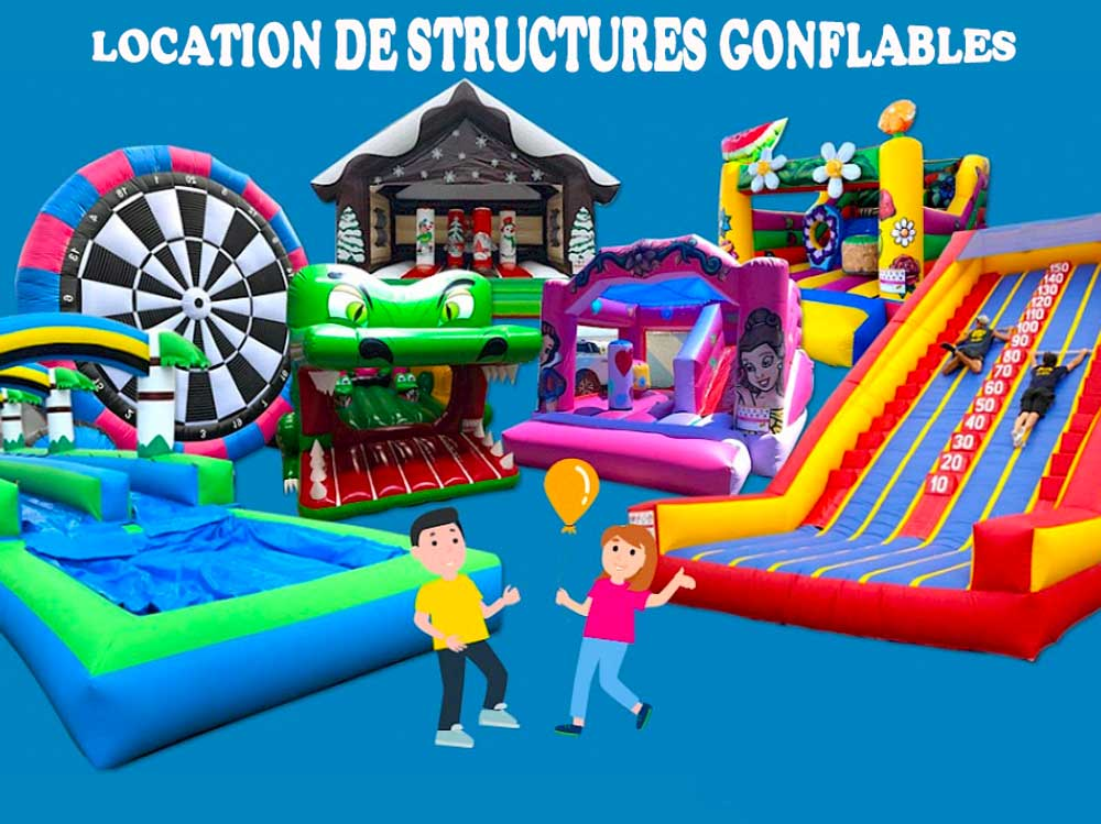 ASG 34 - Locations de Structures Gonflables